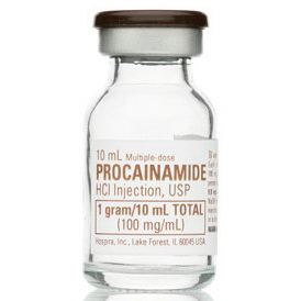 *Case Quantity* Procainamide Vial, 1g, 10mL