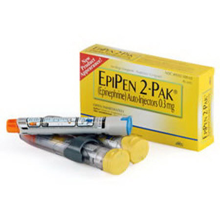 *Discontinued* EpiPen Auto Injector Injection, 0.3mg, 0.3mL