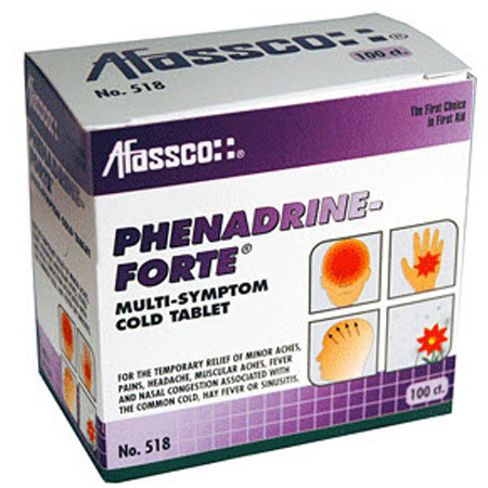 Phenadrine-Forte Multi-Symptom Cold Tablets