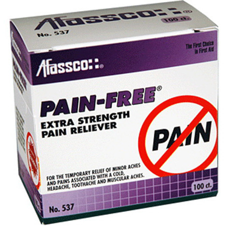 Pain-Free Pain Reliever Tablets, Extra Strength, 50 Tablets