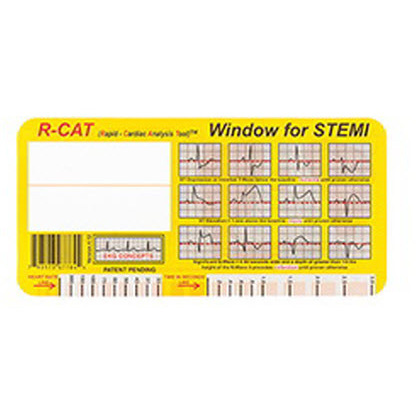 R-CAT Window, For STEMI
