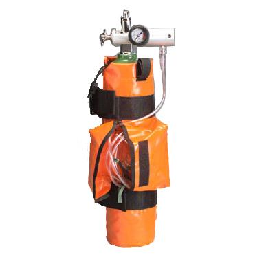 Curaplex® Oxy Sleeve Bag, D Size Tank, Orange