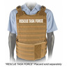 The Tactical Responder Vest MKII with Side Armor, Coyote