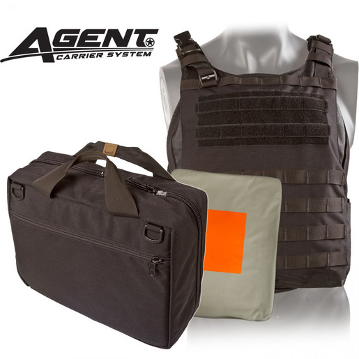 *Discontinued* Agent Ballistic Vest Level IIIA Body Armor, Black