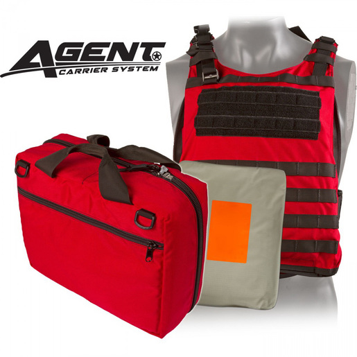 *Discontinued* Agent Ballistic Vest Level IIIA Body Armor, Red