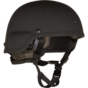 Batlskin Viper A3 Helmet with MSS, Black, Small