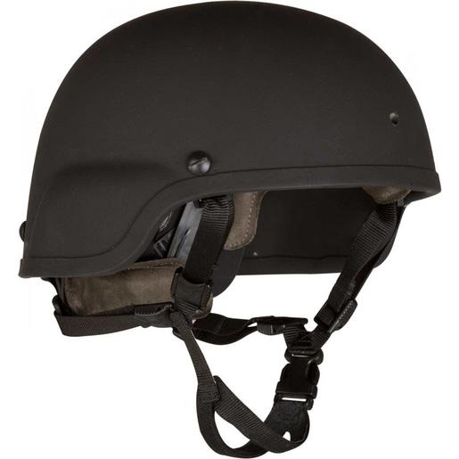 Batlskin Viper A3 Helmet with MSS, Black, Small