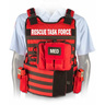Rescue Task Force Vest Kit with Side Armor, Red