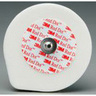 *Limited Quantity* Red Dot™ Foam Monitoring Solid Gel Electrodes with Abrader and Lift Tab, Adult, 1.75in Diameter Size