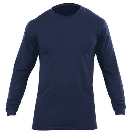 5.11® Men's Utili-T Long Sleeve, Dark Navy, 2PK