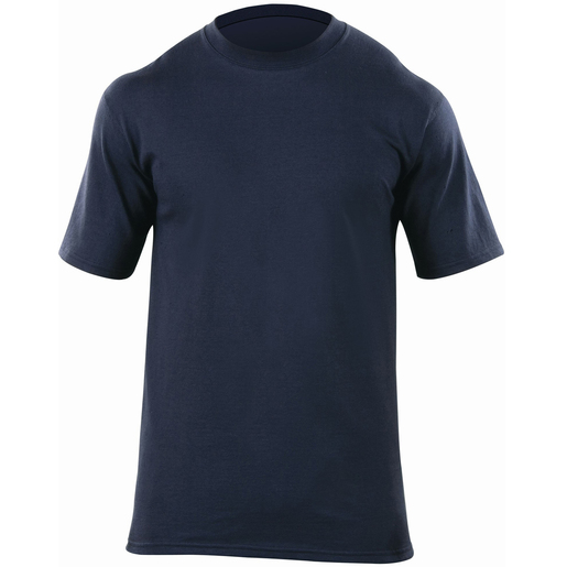 5.11® Men's Station Wear Short Sleeve T-Shirt, Fire Navy