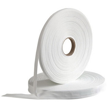 Endotracheal Tube Twill Tape, Bleached, 1/4in x 36yd