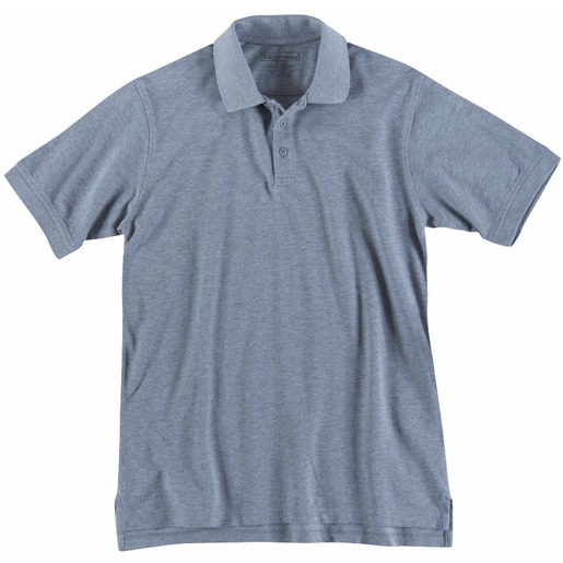 5.11® Men's Professional Short Sleeve Polo, Heather Gray