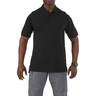 5.11® Men's Professional Short Sleeve Polo Shirt, Black, 2XL