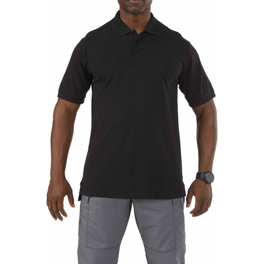 5.11® Men's Professional Short Sleeve Polo, Black