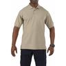 5.11® Men's Professional Short Sleeve Polo Shirt, Silver Tan, Large