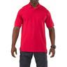 5.11® Men's Professional Short Sleeve Polo Shirt, Range Red, Medium