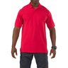 5.11® Men's Professional Short Sleeve Polo Shirt, Range Red, Small