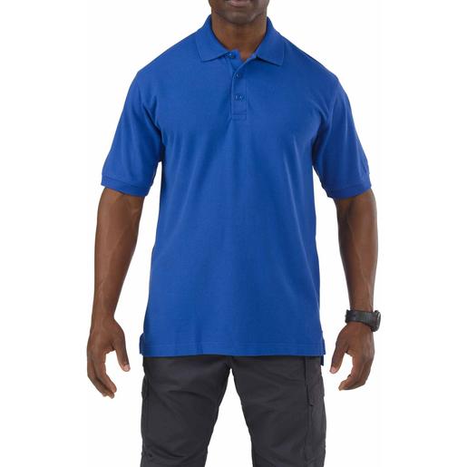 5.11® Men's Professional Polo Shirts, Short Sleeve, Academy Blue
