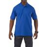 5.11® Men's Professional Short Sleeve Polo Shirt, Academy Blue, Small