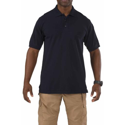 5.11® Men's Professional Short Sleeve Polo Shirts, Dark Navy