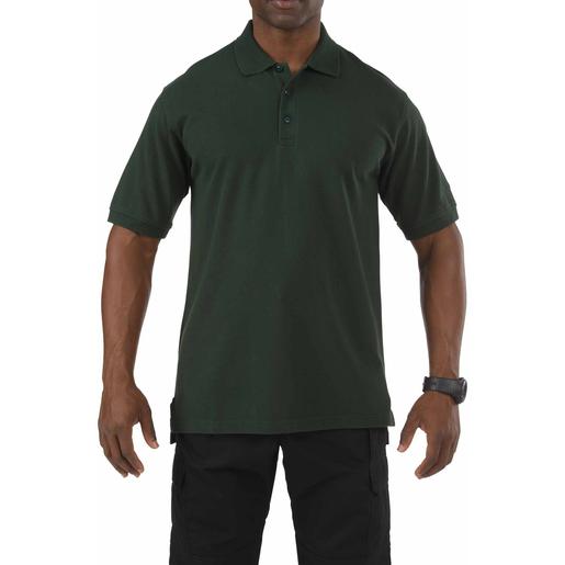 5.11 Men's Professional Polo Shirts, Short Sleeve, LE Green