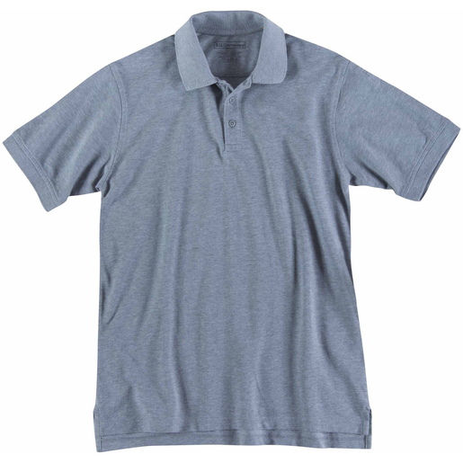 5.11 Men's Professional Polo Shirts, Short Sleeve, Tall, Heather Gray