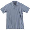 5.11® Men's Professional Short Sleeve Polo Shirt, Tall, Heather Gray, Large