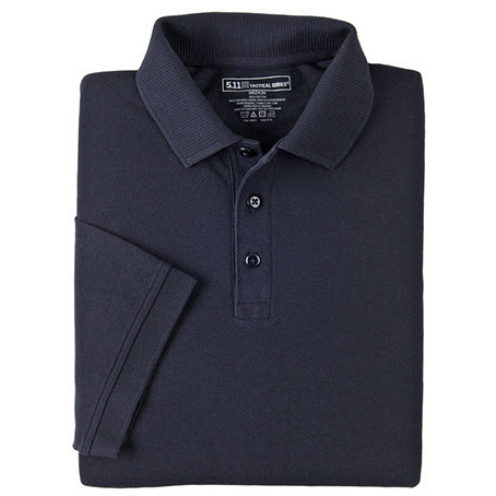 5.11 Men's Professional Polo Shirts, Short Sleeve, Tall, Dark Navy