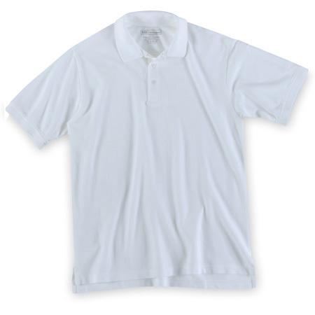 5.11 Utility Polo Shirt, Short Sleeve, White, Unisex