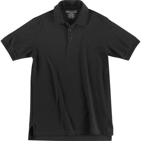 5.11® Utility Short Sleeve Polo Shirt, Black, 4XL