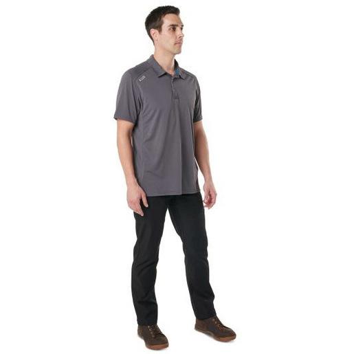 5.11 Paramount Polo, Short Sleeve Shirt, Men, Flint