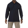 5.11® Men's Professional Long Sleeve Polo Shirt, Regular, Dark Navy, Large