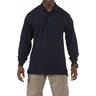 5.11® Men's Professional Long Sleeve Polo Shirt, Regular, Dark Navy, XL