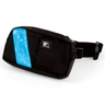 EMS-2 WaistPak Fanny Pack, Black with Blue Reflective Stripe