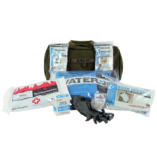 Tactical Burn Care Kit, Olive Drab