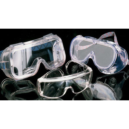 Monogoggle Safety Glasses VPC, Clear Lens, Wide Nose Flange