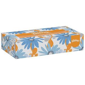 Kleenex® Facial Tissue, 8.4in L x 8in W, White