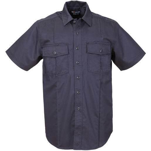 5.11 Men's A-Class Station Shirts, Short Sleeve, Fire Navy
