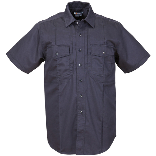 5.11® Men's Station Non-NFPA Class B Short Sleeve Shirt, Regular, Fire Navy, Large