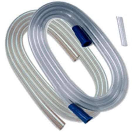 Argyle™ Suction Tubing with Molded Connector, 9/32in x 6ft