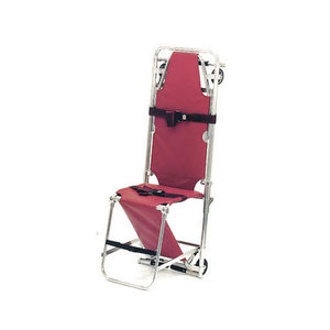 Stair Chair, Combination Stretcher, Burgundy, Model 107