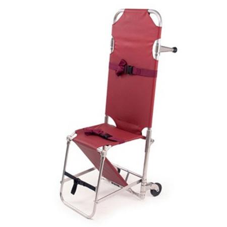 Stair Chair, Orange, Model 107, 4in Wheels