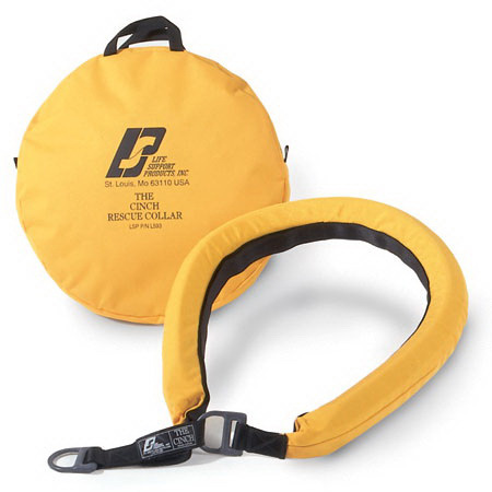 Cinch™ Rescue Ring with Carry Case, Yellow