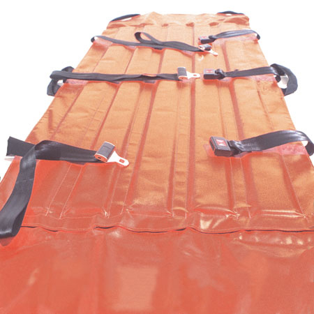 Curaplex® Heavy-Duty Stretcher, 79in x 29in, Orange