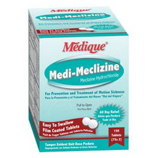 Medi-Meclizine Tablets, 25mg, 500 Tablets