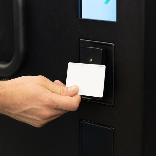 Prox Card Add-on for Standard Machine