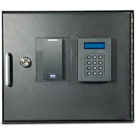 SafeMed Unit Pinpad and Proximity Badge Reader
