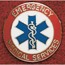 Uniform Collar Pin, Emergency Medical Services