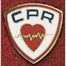 Uniform Service Pin, 3/4in Diameter, Round, CPR